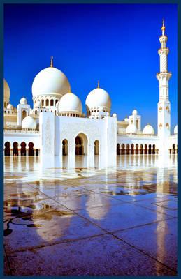 Sheikh Zayed Grand Mosque - Abu Dhabi UAE