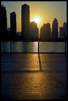 Dubai, UAE - Sunset
