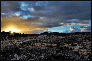 Iceland - Solheimajokull - Sunset