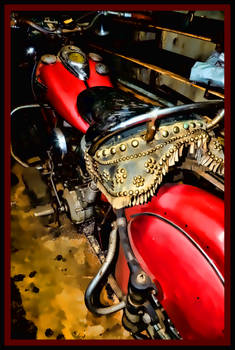 Al's Indian Motorcycle - Mass. USA
