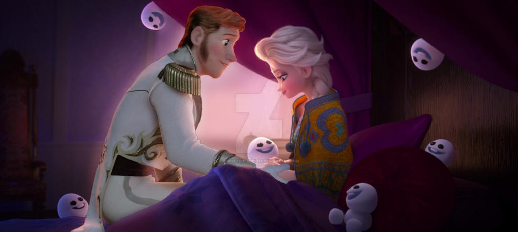 Hans and Elsa - You're letting me take care of you by ...
