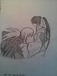 Kenshin and Kaoru by Risa-chan22