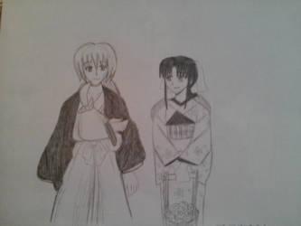 kenshin and kaoru 2 by Risa-chan22