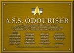 A.S.S. ODOURISER PLAQUE