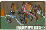uss titan bridge oblique view