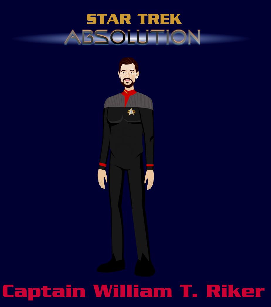 Captain Riker USS Titan