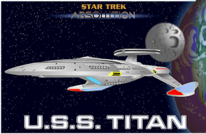 U.S.S. TITAN FORWARD VIEW