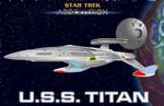 U.S.S. TITAN FORWARD VIEW