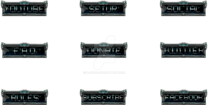 Twitch Button Bundle (LoL Challenger Style)