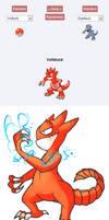 Pokemon Fusion Voltduck