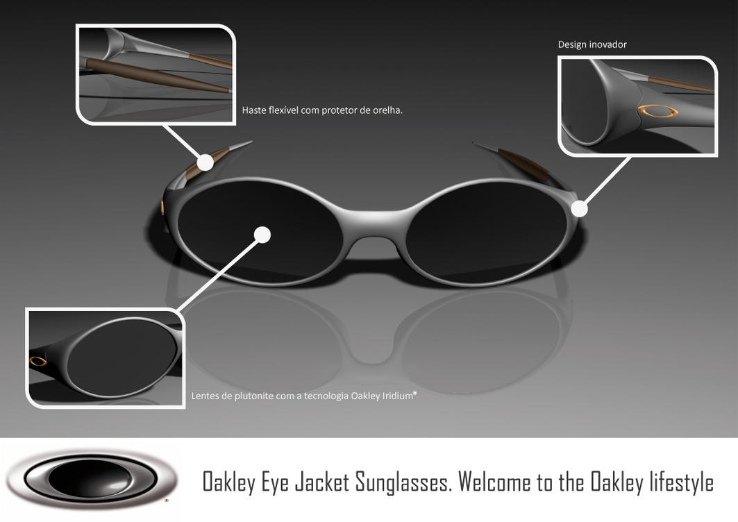 oakley eye jacket  oakley eye jacket 3d by gddesign