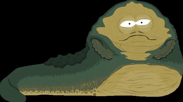 Brushtober2020 - Thick (Jabba the Hutt)