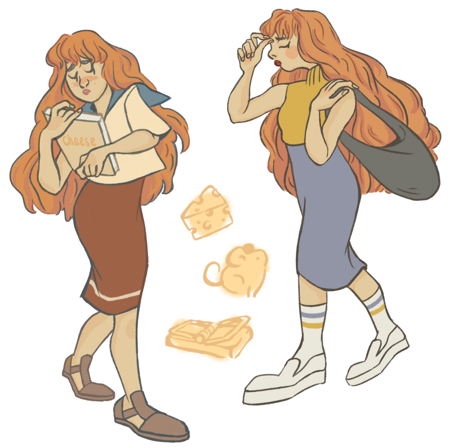 Cheese in the Trap by Honguna