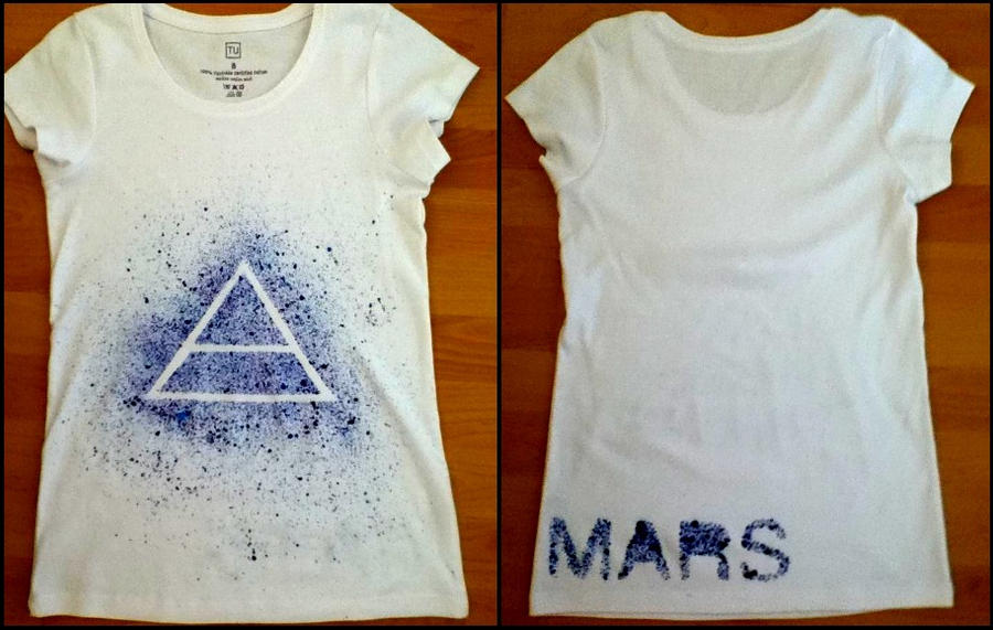 30 Seconds To Mars T-Shirt by DirtyLittleSecret-x