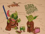 Yoda Takes a Vacation