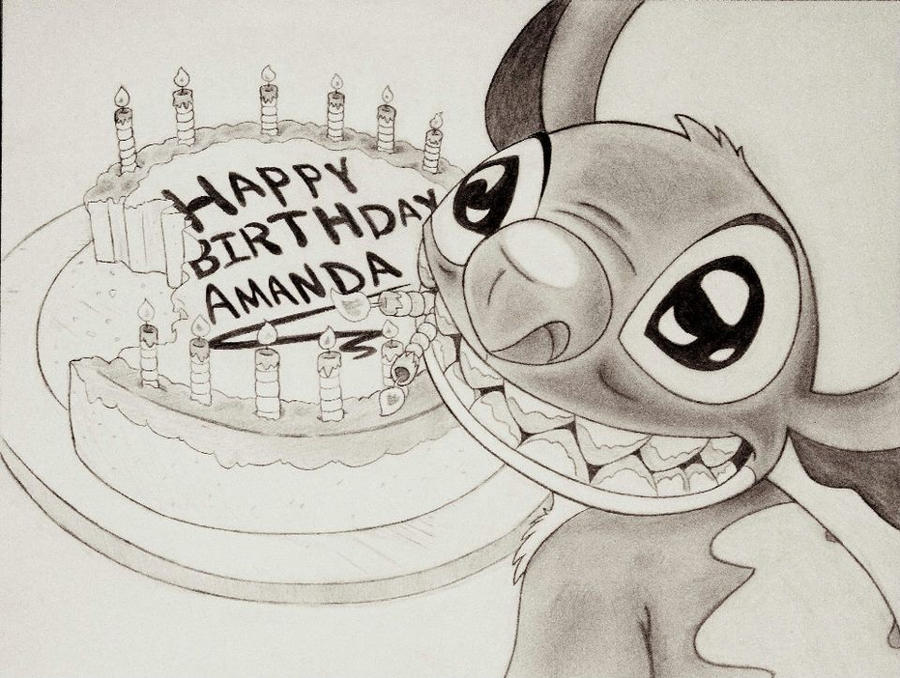 Best Birthday Wishes From Stitch By DannyNicholas On