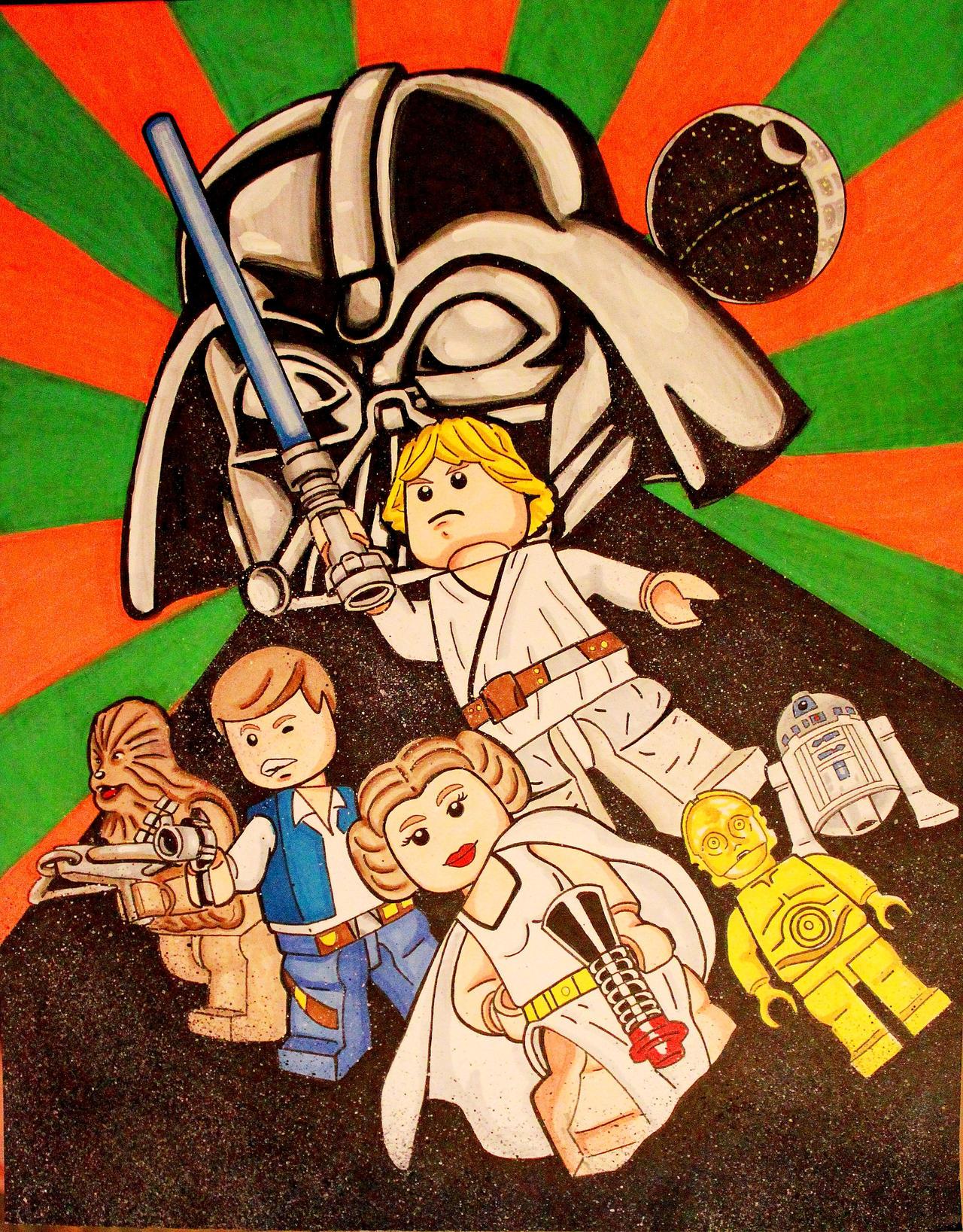 LEGO STAR WARS by DannyNicholas