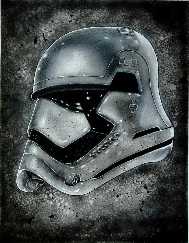 FIRST ORDER STORMTROOPER by DannyNicholas