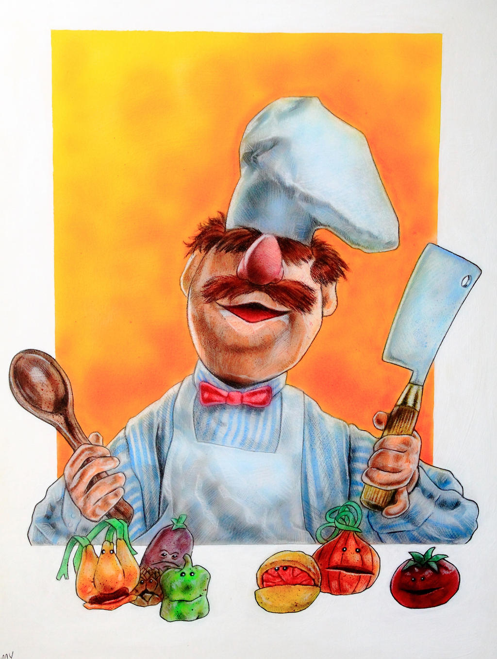 muppet swedish chef coloring pages - photo#35