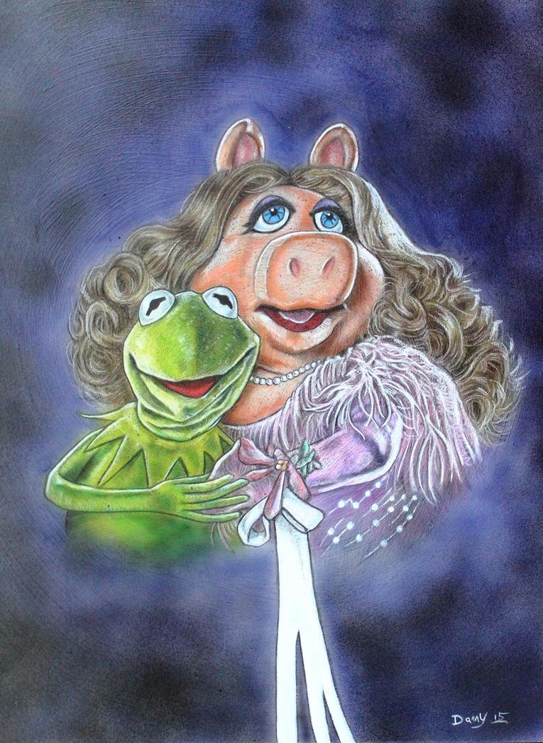 KERMIT AND MISS PIGGY by DannyNicholas
