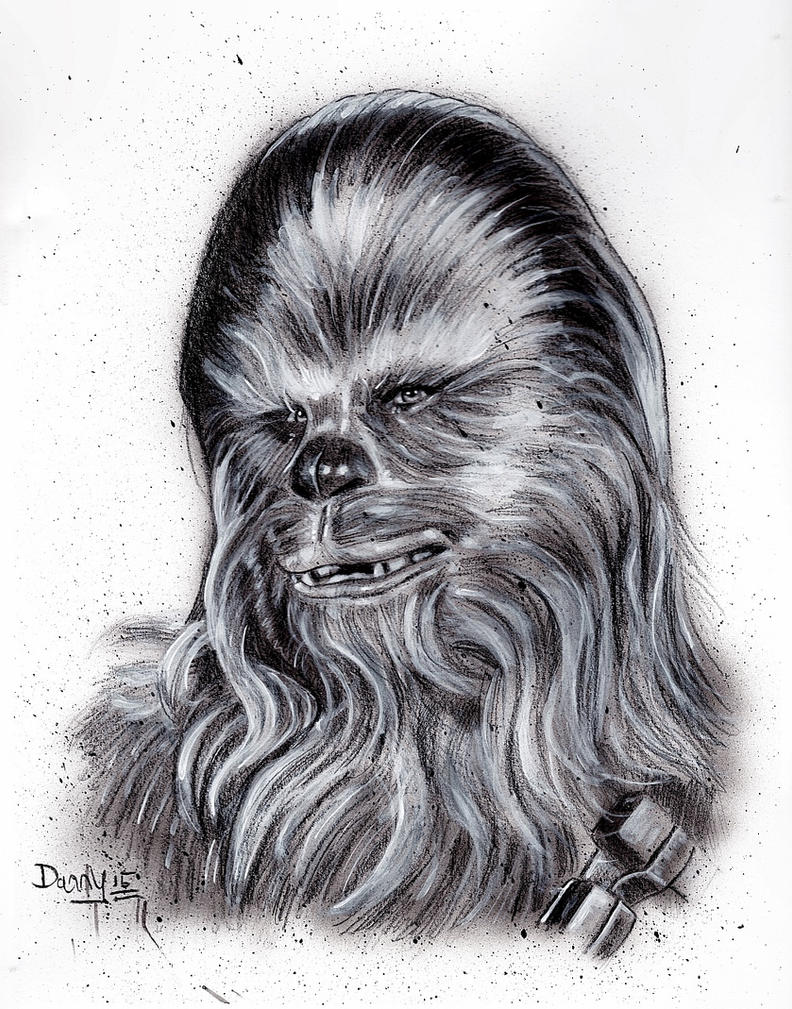 Chewbacca here is first-mate on a ship by DannyNicholas