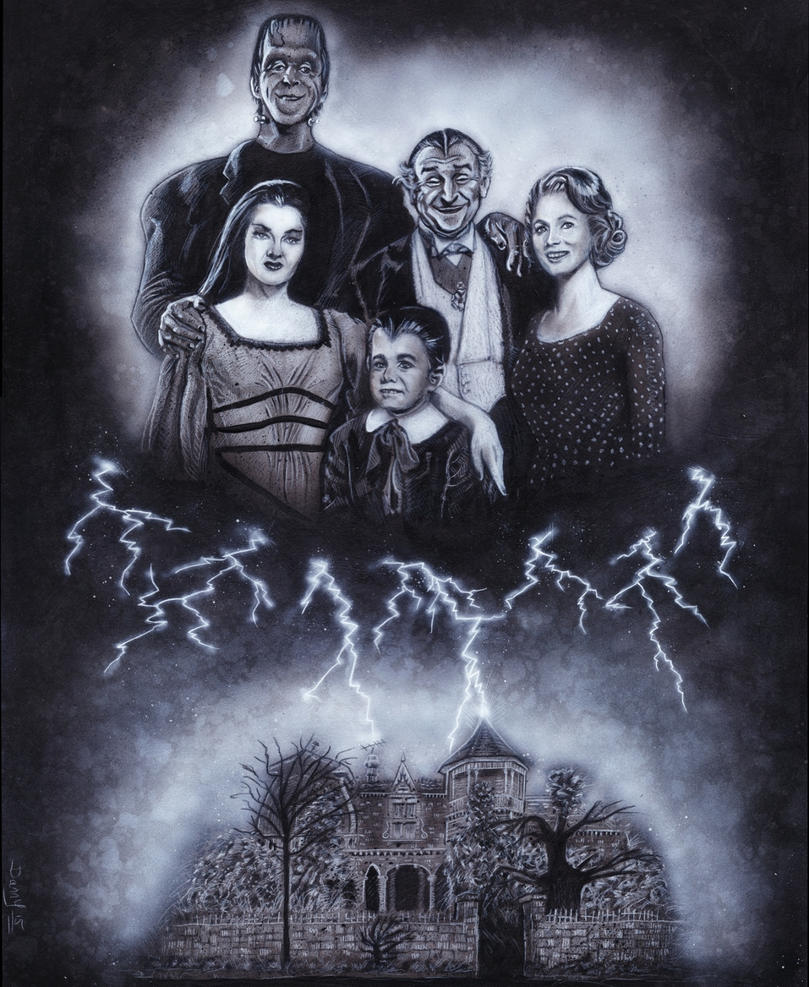 THE MUNSTERS by DannyNicholas