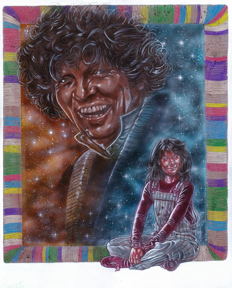 THE DOCTOR AND SARAH JANE by DannyNicholas