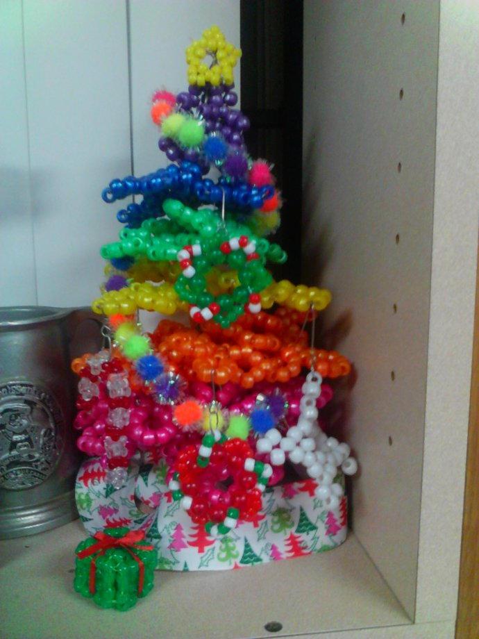 Kandi Christmas Tree