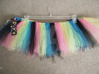 Rainbow Tutu and Grader