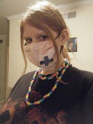 Pink X Surgical Mask