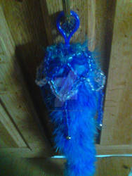 Blue Tail with Kandi Bell Topper