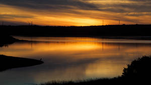 July 16 Sunset over Lingan Bay