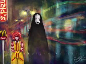 McDonald X Kaonashi