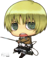 SNK - Armin Arlert - Chibi by Amistrated