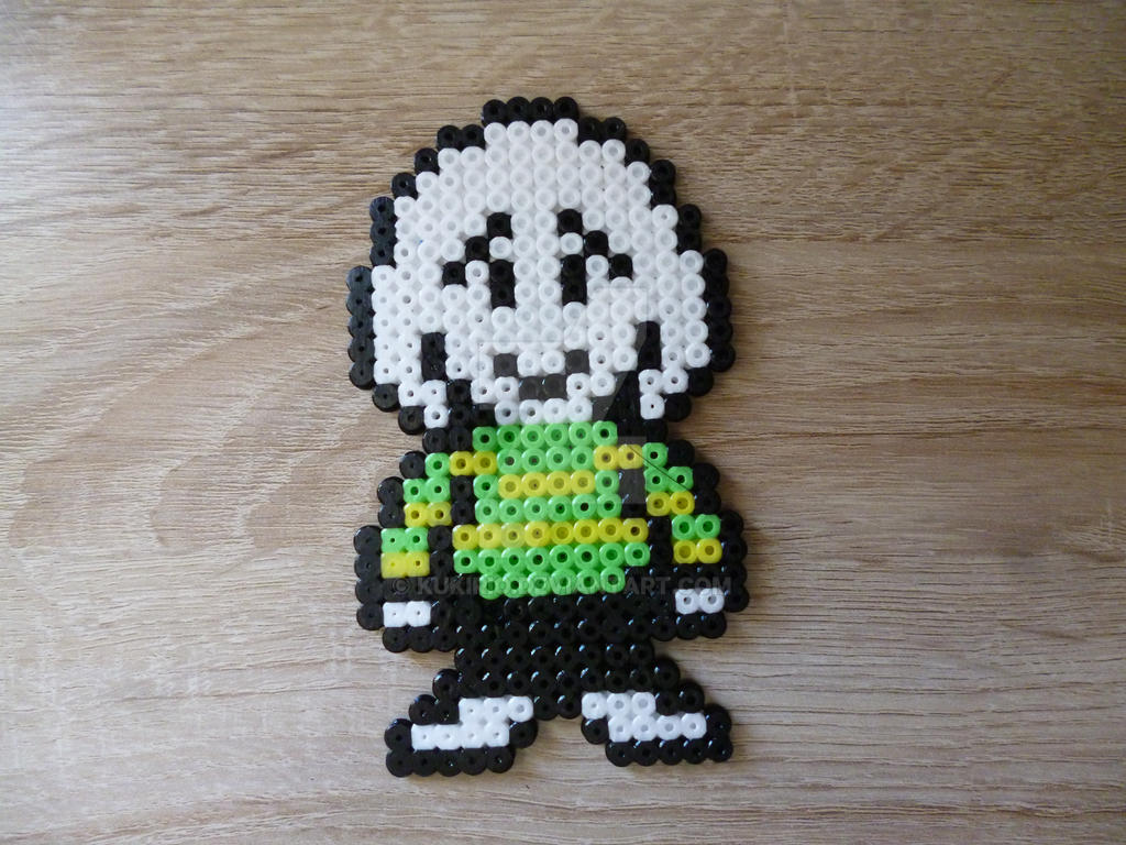 Asriel From Undertale In Perler Beads By Kukirio On Deviantart