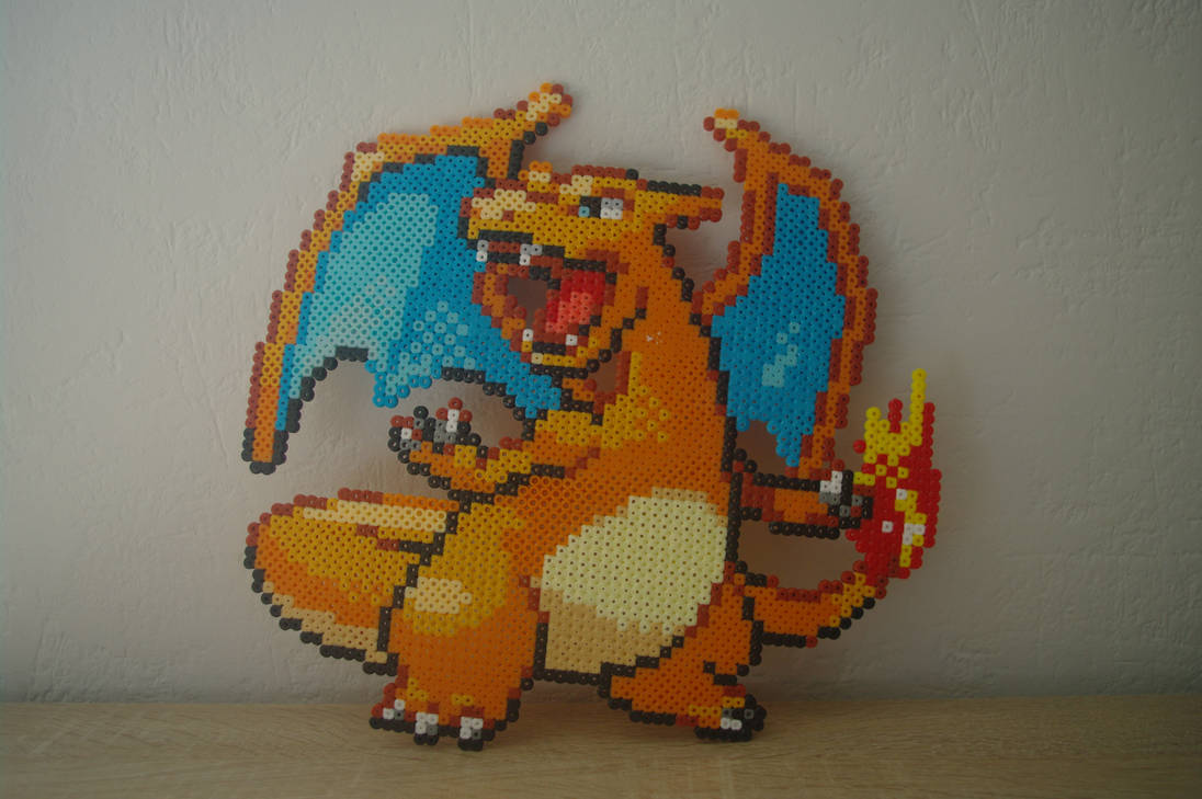 Sprite Charizard from Pokemon by Kukirio