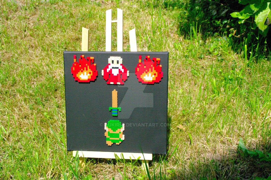 Canva / Frame The Legend of Zelda by Kukirio