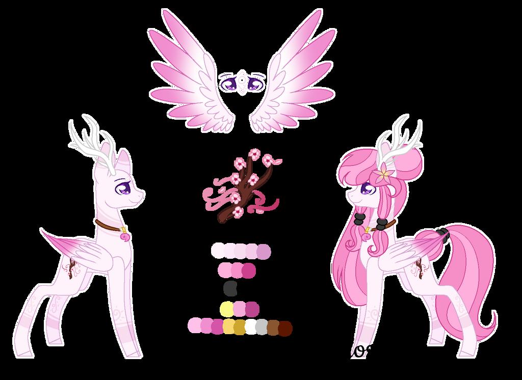 .:OC:. [[ Cherry Blossom]] by MLPCrystalHarmony