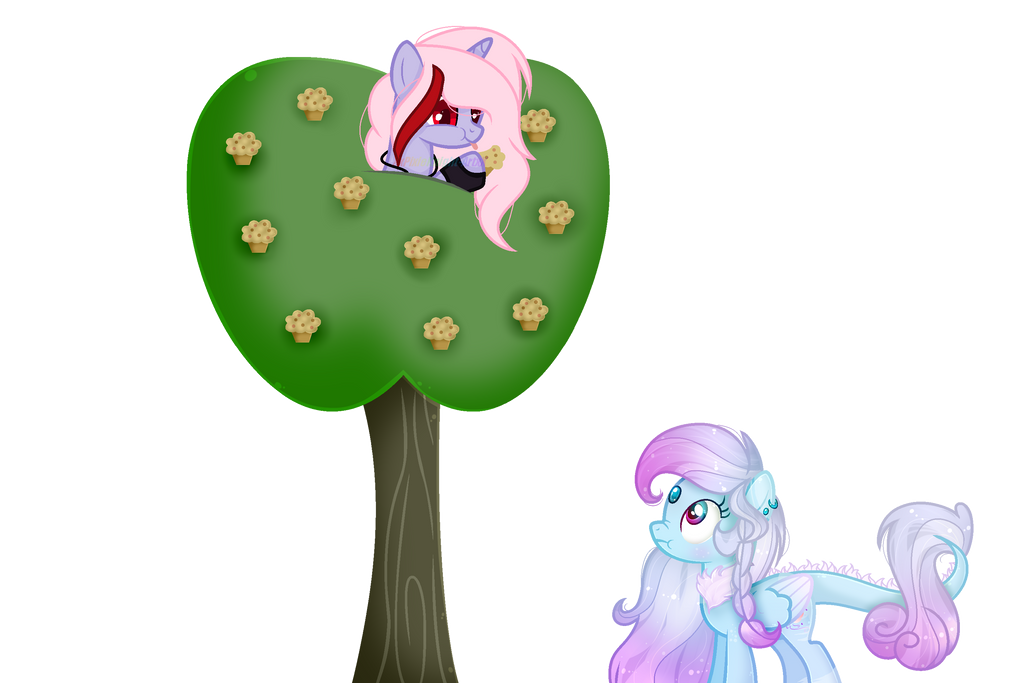 .: Collab:. [[no muffins for me?]] by MLPCrystalHarmony