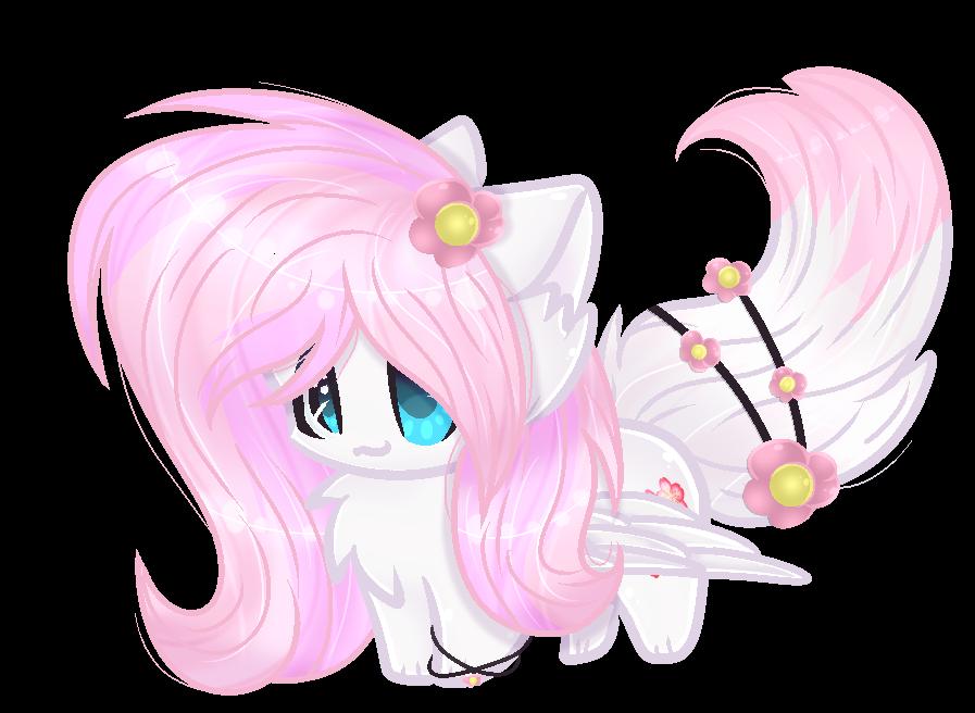 .: Commission :. [[Sakura Blossom Kitty]] by MLPCrystalHarmony