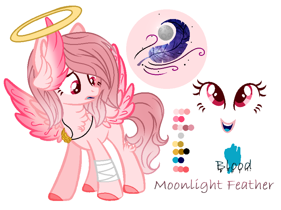 .:OC:. [[Moonlight Feather]] by MLPCrystalHarmony