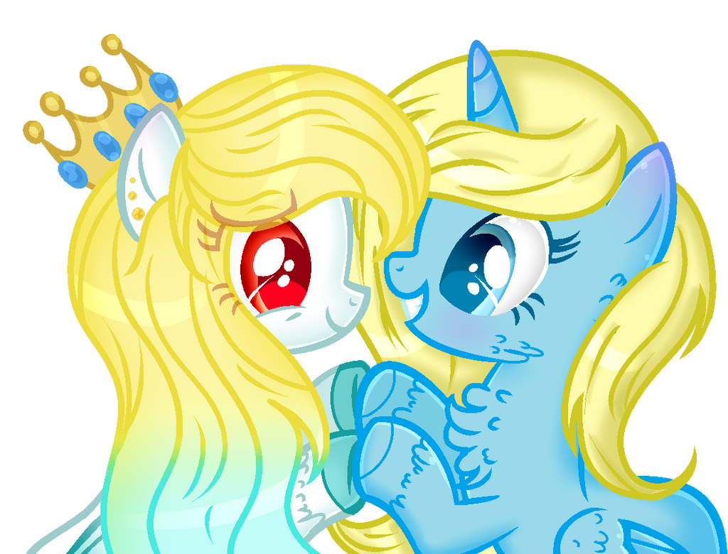 .:GIFT:.[[Good Friends]] by MLPCrystalHarmony