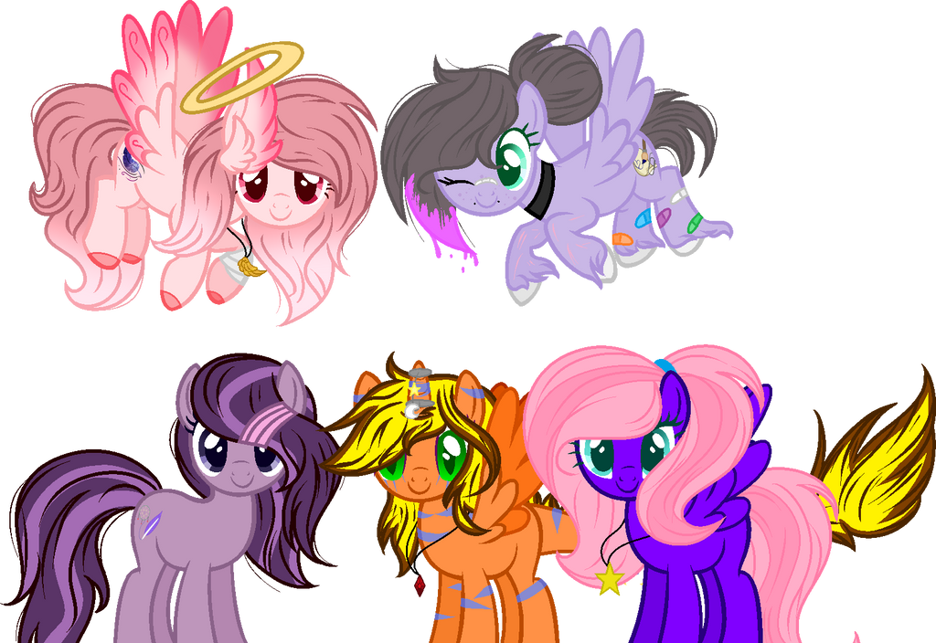 .:Collab:.[[We are all friends here]] by MLPCrystalHarmony
