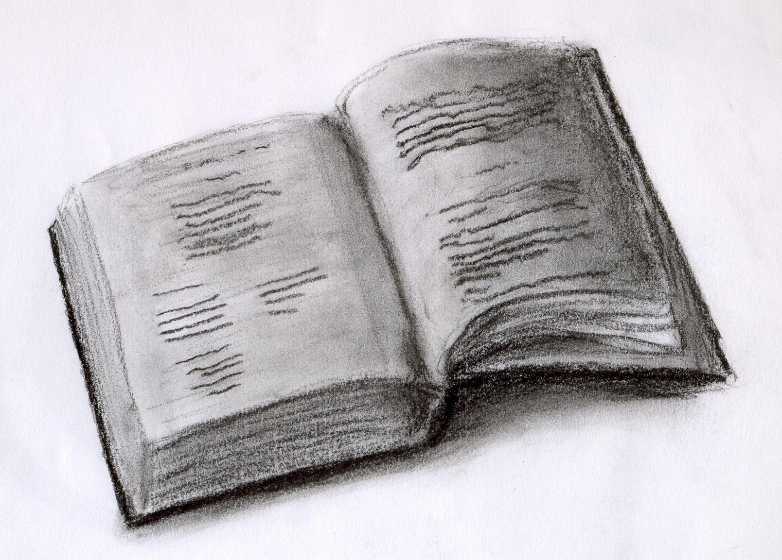 an open book by aChairAndI on DeviantArt