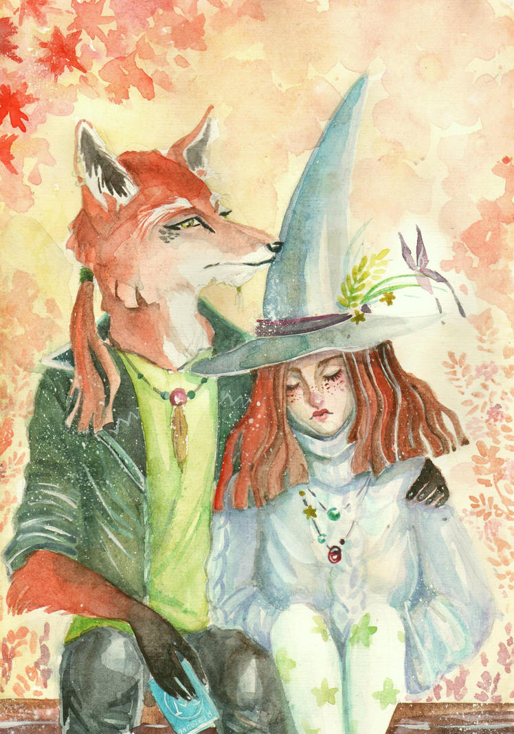 I'm tired of being a witch. by maru-redmore