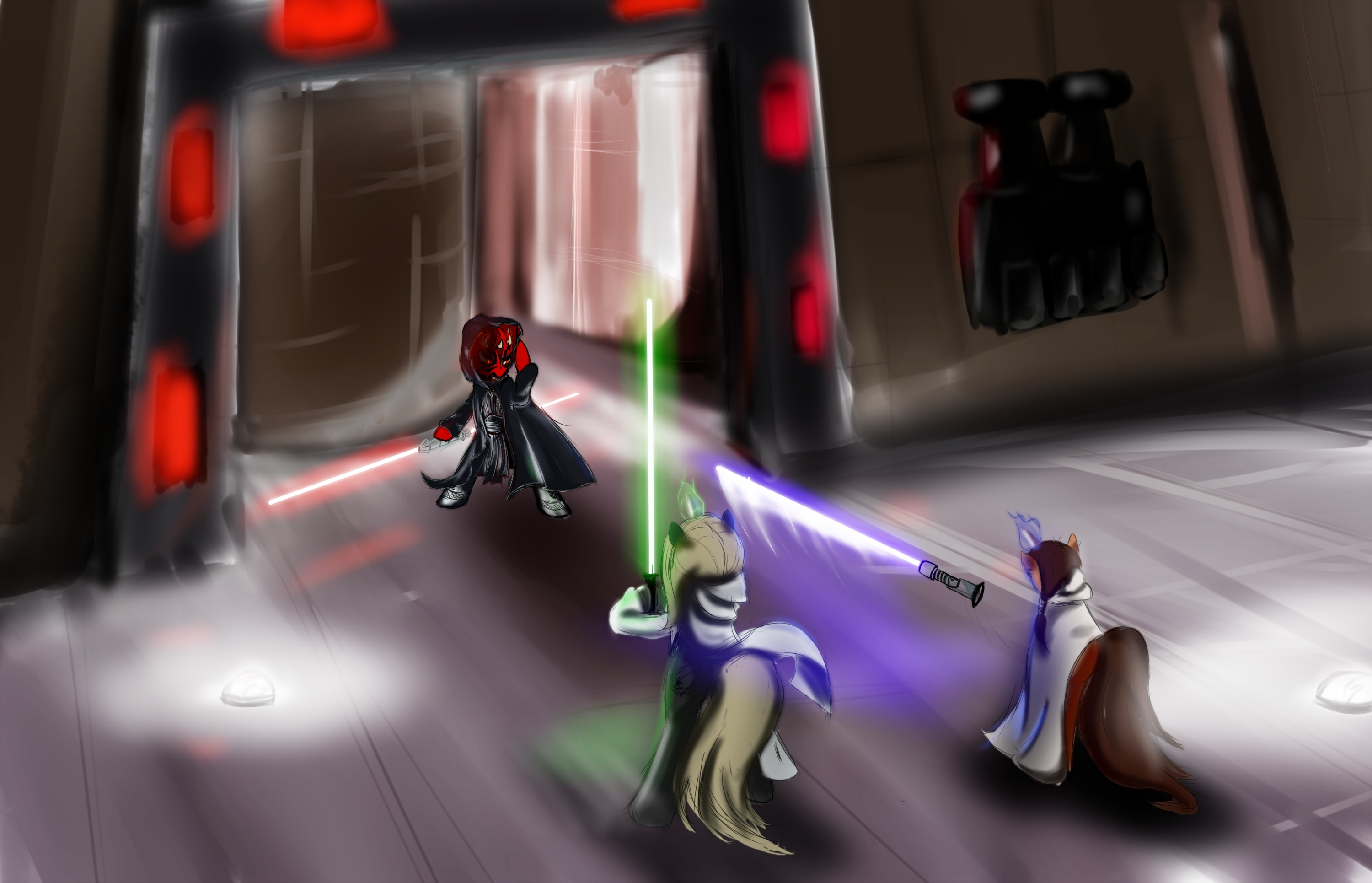 Duel of Fates by SpaceHunt