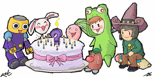 Blackmago's cake by Kit-Manga-Kun