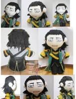 Loki avengers plush by Spizzina00