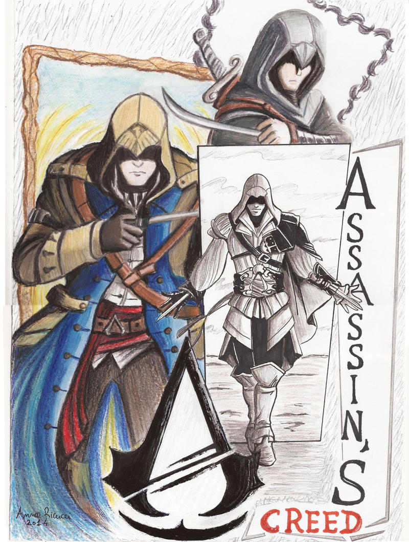 Assassin's Creed by Spizzina00 on DeviantArt