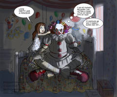Elizabeth and Pennywise.